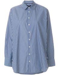 Woolrich - Loose Striped Shirt - Lyst