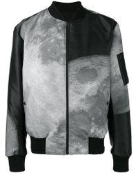 Christopher Raeburn - Moon Print Reversible Bomber Jacket - Lyst