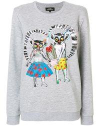 Katya Dobryakova - Lemurs Sweatshirt - Lyst
