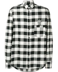 Christian Pellizzari - Checked Shirt - Lyst
