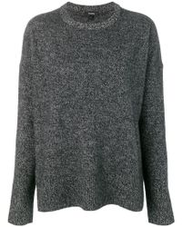 Theory - baggy Style Knitted Jumper - Lyst