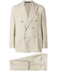 Bagnoli Sartoria Napoli - Double Breasted Two Piece Suit - Lyst