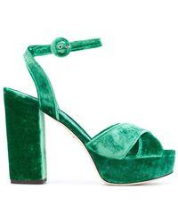 Dolce & Gabbana - Platform Sandals - Lyst