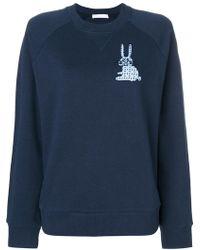 Peter Jensen   Rabbit Print Sweatshirt   Lyst