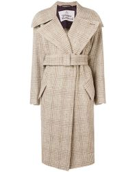 Vivienne Westwood - Chequered Trench Coat - Lyst