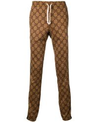Gucci - Jogginghose mit GG-Muster - Lyst