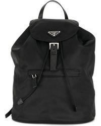 d9dba2226477 Lyst - Women s Prada Backpacks
