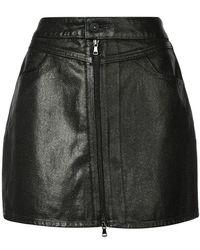 PAIGE - Jamine Mini Skirt - Lyst