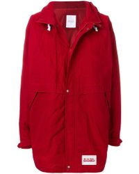 Martine Rose - Hooded Button Coat - Lyst