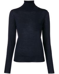 Roberto Collina - Roll-neck Fitted Jumper - Lyst
