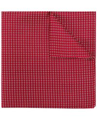 Emporio Armani - Patterned Pocket Square - Lyst