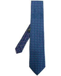 Etro - Rabbit Print Tie - Lyst