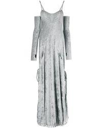 Andrea Ya'aqov - Glove Detail Dress - Lyst