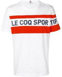 Le Coq Sportif - Logo T-shirt - Lyst