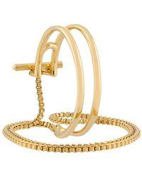 Eddie Borgo - Cuff Multi-bracelet - Lyst