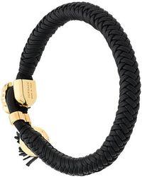 Versace - Woven Medusa Bracelet - Lyst