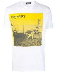 DSquared² - Heavy Rodeo Print T-shirt - Lyst