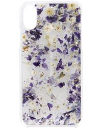 ANREALAGE - Pressed Florals Iphone Case - Lyst