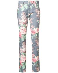 Junya Watanabe - Jeans skinny con stampa floreale - Lyst