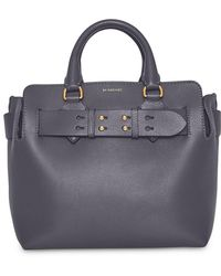 55f5f5f287e6 Lyst - Burberry The Small Leather Belt Bag in Green - Save 19%