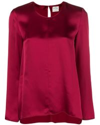 Forte Forte - Long-sleeved Loose Blouse - Lyst