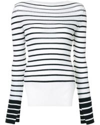 Mrz - Striped Side-slit Jumper - Lyst