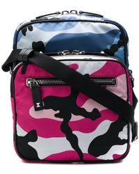 Valentino - Camouflage Messenger Bag - Lyst