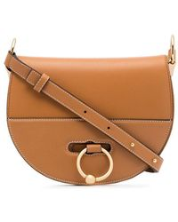 JW Anderson - Tan Latch Leather Cross Body Bag - Lyst 4cd72c5018290