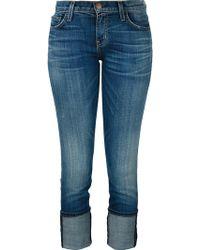 Current/Elliott - The Fling Slim-fit Boyfriends Jeans - Lyst
