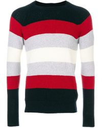 Eleventy - Striped Jumper - Lyst