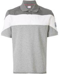 Moncler - Colour-block Polo Shirt - Lyst