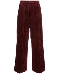 Astraet | Ribbed Cropped Trousers | Lyst