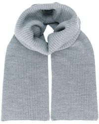 Barbara Bui - Ribbed Knitted Scarf - Lyst