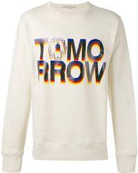 Stella McCartney - Tomorrow Print Sweatshirt - Lyst