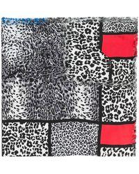 Pierre Louis Mascia - Printed Leopard Scarf - Lyst