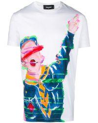 DSquared² | Boy Scout Paint-effect T-shirt | Lyst