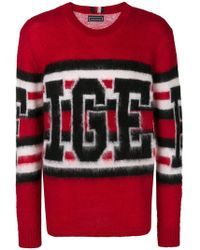 Tommy Hilfiger - Striped Knit Sweater - Lyst