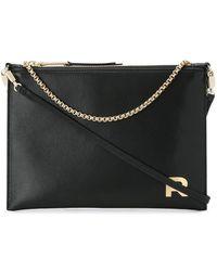Rochas - Metallic Chain Tote Bag - Lyst