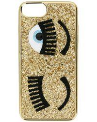 Chiara Ferragni - Eyes Iphone 7 Case - Lyst