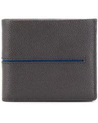 Tod's Бумажник С Контрастной Полоской - Серый