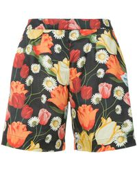 Mother Of Pearl - Tulip-print Bermuda Shorts - Lyst