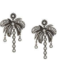 N°21 - Palm Tree Earring - Lyst