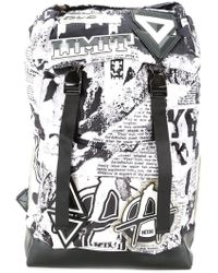 KTZ - 'newspaper Print' Backpack - Lyst