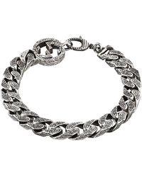 Gucci Bracelet chaîne à logo