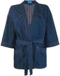 M.i.h Jeans - Tie Waist Kimono Jacket - Lyst