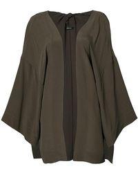 Osklen - Oversized Kimono Jacket - Lyst