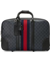 6843ca5938f4e5 Gucci - Soft GG Supreme Carry-on Duffle With Wheels - Lyst