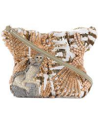 Jamin Puech - Beaded Shoulder Bag - Lyst