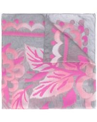 Armani - Patterned Scarf - Lyst
