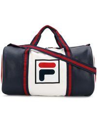 Fila - Logo Holdall Bag - Lyst